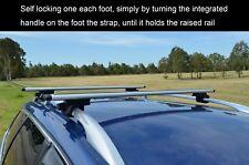 Aerodynamic Roof Rack Cross Bar for Subaru XV 11-18 Alloy Lockable 120cm
