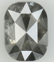 Natural Loose Diamond Grey Color Oval Clarity I3 7.40 MM 1.14 Ct L7065