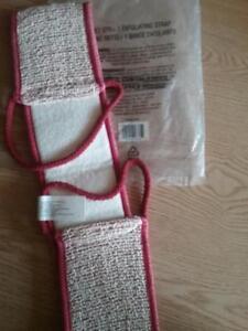 UNISEX SISAL COTTON BLEND EXFOLIATING STRAP Avon Bath & Body Bath straps New