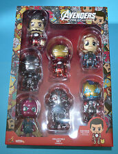 Hot Toys Marvel Avengers Age of Ultron Cosbaby Series 2 Figure Box Set Iron Man