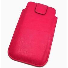 Housse Etui Protection façon cuir rose pour SONY Xperia X Performance