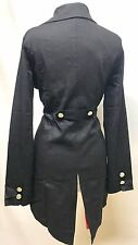 SDL Gothic Steampunk Girls Penguin Jacket Wth Removable Cross Chest SizeL/XL38