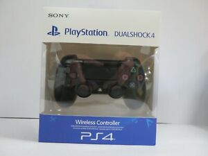 SONY PLAYSTATON 4 BLACK WIRELESS CONTROLLER BOXED - {R:97D}