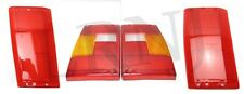 LAND ROVER RANGE ROVER CLASSIC 1987-1995 REAR LIGHT LENS COMPLETE SET LH & RH