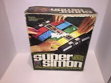 Milton Bradley Super Simon Electronic Game (1979) TESTED WORKING