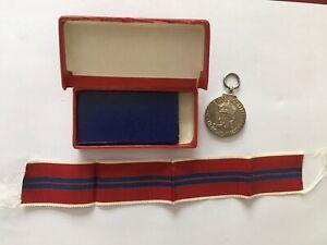 Queen Elizabeth II Coronation Medal 1953, Mint & Boxed,Royal Memorabilia