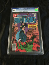 DC Comics 1978 Doorway to Nightmare #4 CGC 9.6 NM+ WHITE Pages Mike Kaluta Cover