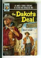 THE DAKOTA EAL by Ryan, rare US Lion #187 pulp western vintage pb