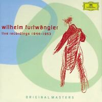WILHELM/BP FURTWÄNGLER - LIVE RECORDINGS 1944-1953 ORIGINAL MASTERS 6 CD NEW