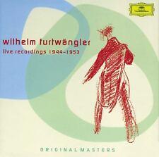 WILHELM/BP FURTWÄNGLER - LIVE RECORDINGS 1944-1953 ORIGINAL MASTERS 6 CD NEUF