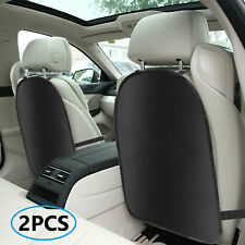 2pc Car Seat Back Cover Protector Kick Clean Mat Pad Anti Stepped Dirty for Kids