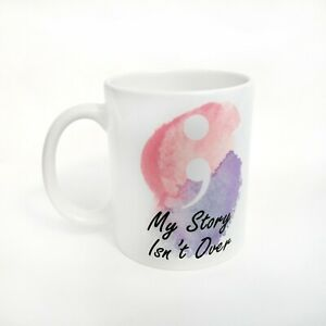 Semicolon Suicide Awareness Affirmation Inspirational Words Mug Gift