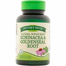 6 Pack Nature's Truth Echinacea & Goldenseal Root Plus 100 Capsules Each