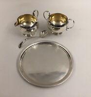 Vintage 4-Piece Sterling Silver 925 Set  ***416.6 grams***