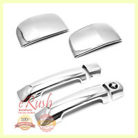FOR 2007-2017 TOYOTA TUNDRA DOUBLE CAB 2DR CHROME DOOR HANDLE COVER COVERS 2016