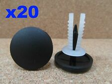 20 roof lining & carpet trim clips suitable for Ford Transit & Minibus 2001