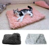 1 pcs Blanket Pet Soft Fluffy Mattress Cosy Warm Dog Sleep Cat Bed Kennel U6E4