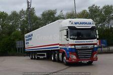 Truck Photos Scottish McLaughlin Perth  DAF XF & fridge SN69 WVG  Charity Lot