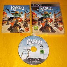 RANGO Ps3 Versione Ufficiale Italiana 1ª Edizione ○○○○ COMPLETO