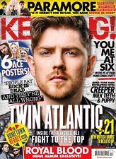 KERRANG Magazine #1668 TWIN ATLANTIC (BRAND NEW COPY)