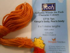 """Winne the Pooh Character Colours Stranded Cotton """"Kanga's &,Roo's body"""" CT15 Tan"""
