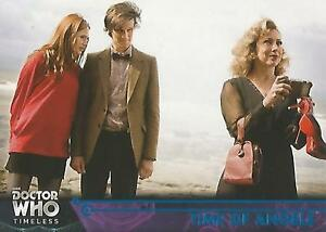 Doctor Who Timeless - No 72 Blue Parallel Base Card #81/99