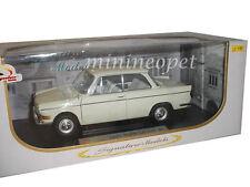SIGNATURE MODELS 18125 1962 62 BMW LS LUXUS 1/18 DIECAST MODEL CAR CREAM