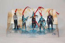 Disney Authentic Captain Marvel Christmas Ornaments 6pc Figure Set