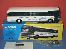 Corgi Classic: Bus; Greyhound lines, GM 4509 with accessories parts, COA. C-9/ob