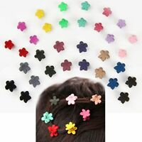 30 PCS Multicolor Kids Baby Mini Claw Girls Hairpins Hair Clips Clamp Flower
