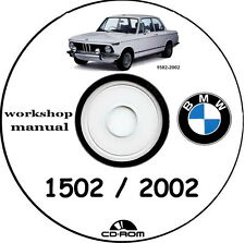 workshop manual BMW 1502 to 2002,manuale officina 1502,1602,1802,2002