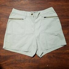 Women New York & Co Casual Shorts ~ Beige ~ Sz 14 ~ Classic ~ 100% Cotton