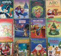 Little Golden Books Lot of 10 RANDOM MIX CHRISTMAS Titles Frosty Rudolph Santa