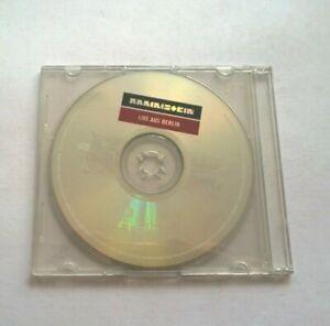 Rammstein live aus berlin    Compact Disc CD free postage