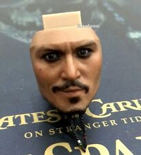 Hot Toys DX06 Scale 1/6 Pirates Caribbean JACK SPARROW Smile Face Head PERS NEW