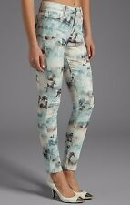 NWT PAIGE Sz27 HOXTON HIGH RISE ULTRA SKINNY-STRECH JEANS WILD HEARTS
