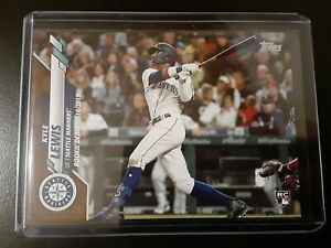 2020 Topps Update Kyle Lewis Gold Parallel U-21 RC #879/2020 - Seattle Mariners