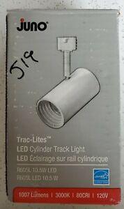Juno Lighting R605L 3000K 80CRI  White LED TRAC-LITE, 120V, 10.5W LED Trac Head