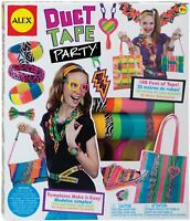 Alex Duct Tape Party Fashion Making Kit! Age 7+ Years Free UK Postage!