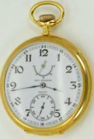 Historic WWI German pilot's Paul Ditisheim wind indicator Chronometer watch&box