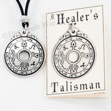 HEALER'S Talisman Healing Pendant Necklace magic wisdom of the ages