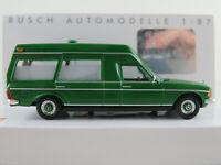 Busch 52202 Mercedes-Benz VF 123 Miesen (1977) in grün 1:87/H0 NEU/OVP