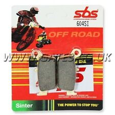 TM Racing 450EN EN 450 2001-2004 SBS 604SI Sintered Competition Rear Brake Pads