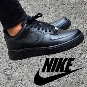 Nike Air Force 1 '07 315122 001 Herrenschuhe Schwarz Sportschuhe Gr.US 8 -US 12