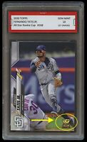 FERNANDO TATIS JR. TOPPS ALL-STAR ROOKIE GOLD CUP CARD 1ST GRADED 10 PADRES MLB