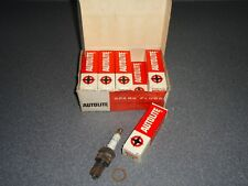 New NOS Vintage Autolite Lot Box of 10 Spark Plug Plugs # AG4
