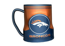 Denver Broncos Coffee Mug - 18oz Game Time [NEW] NFL Tea Cup Microwave CDG