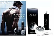 CHAMPION BY DAVIDOFF FOR MEN-EDT-SPRAY-3.0 OZ-90 ML-AUTHENTIC TESTER-FRANCE
