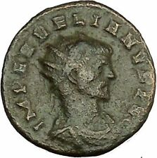 AURELIAN shaking hands with Concordia Harmony  Cult  Ancient Roman Coin i39979