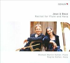 Jeux A Deux: Recital for Flute and Harp, New Music
